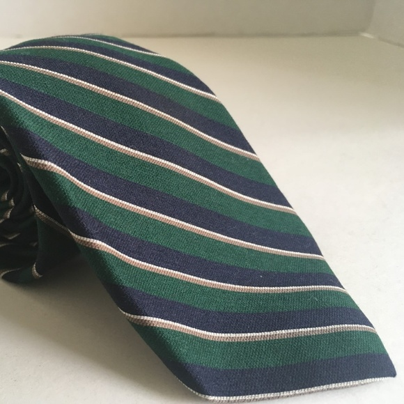 Givenchy Other - Givenchy Gentlemen Paris Green Blue Necktie